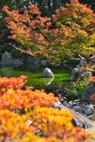 Jardin japonais de parc comm?moratif de l'expo ?70 image stock