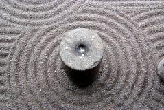 Jardin japonais de zen Image stock