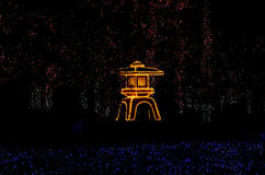 Jardin japonais lumineux, Kyoto Japon Images stock