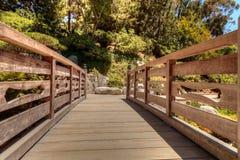 Jardin japonais tranquille d'amitié au parc de Balboa en Di de San Image stock