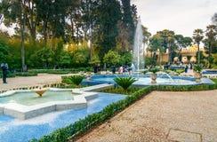 Jardin Jnan Sbil, jardim real em Fes Morroco Imagens de Stock
