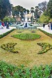 Jardin Jnan Sbil, jardim real em Fes Morroco Foto de Stock