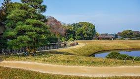 jardin Koraku-en à Okayama Photo stock