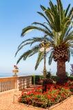 Jardin méditerranéen Photographie stock