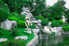 Jardin magnifique Photo stock
