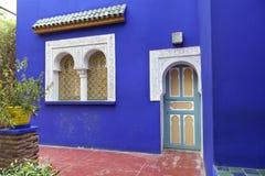 Jardin Majorelle en Marrakesh Imagenes de archivo