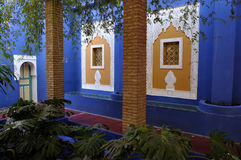 Jardin Majorelle in Marrakech Royalty Free Stock Photography