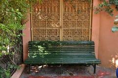 Jardin Majorelle, Marrakech royalty free stock images