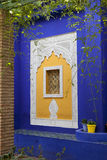 Jardin Majorelle in Marrakesh Royalty Free Stock Images