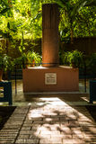 Jardin Majorelle in Marrakesh Stock Images