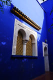 Jardin Majorelle ogród w Marrakesh, Maroko Zdjęcia Royalty Free