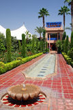 Jardin marocain Photographie stock