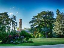 Jardin Massey dans Tarbes France images stock