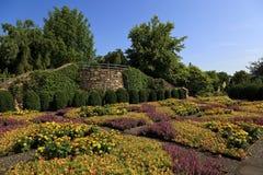 Jardin modelé d'édredon à Asheville la Caroline du Nord photo stock