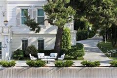 Jardin moderne Image libre de droits