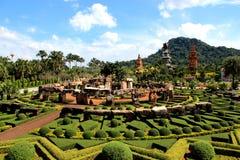 Jardin moderne Photos stock