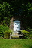 Jardin muré Photographie stock