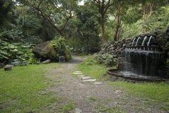 Jardin paisible Image libre de droits