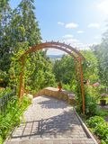 Jardin patriarcal dans Vladimir Russie photo stock