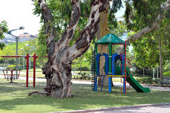 Jardin pour des enfants Photos libres de droits