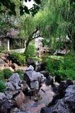 Jardin prolongé, jardin de rocaille Photographie stock