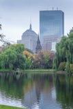Jardin public commun de Boston Photos libres de droits