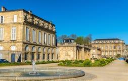 Jardin public de Bordeaux dans les Frances photo stock