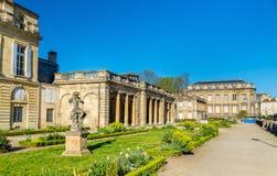 Jardin public de Bordeaux dans les Frances image stock