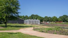 Jardin public de ville Image libre de droits