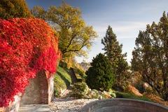 Jardin public du paradis à Prague, République Tchèque images libres de droits