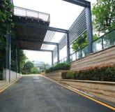 Jardin résidentiel en Chine Photo libre de droits