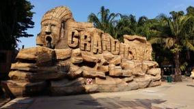 Jardin rêveur du monde de la Thaïlande Images libres de droits