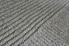 Jardin ratissé de sable Image stock