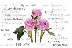 Bouquet antique de fleur Images libres de droits