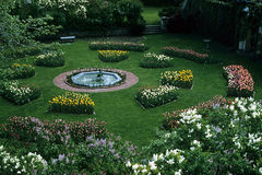 Jardin rond Photographie stock