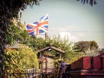 Jardin rural image stock