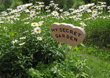 Jardin secret Images libres de droits