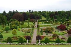 Jardin soigné Photo stock
