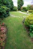 Jardin soigné photo libre de droits