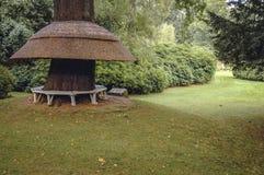 Jardin suisse dans Biggleswade Images stock
