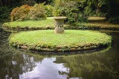 Jardin suisse dans Biggleswade Images libres de droits
