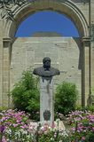 Jardin supérieur de Barracca – La Valette, Malte images stock