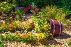 Jardin sur l'affichage Photo libre de droits