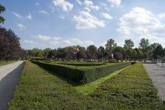 Jardin symétrique photo stock