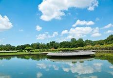 Jardin thaï Photos libres de droits