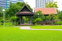 Jardin thaï de pavillon image libre de droits