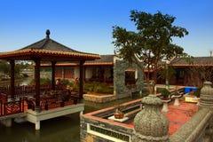 Jardin traditionnel chinois Photos libres de droits