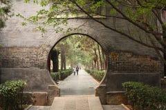 Jardin traditionnel de Chineese Images libres de droits
