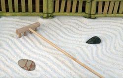Jardin traditionnel de zen Image stock