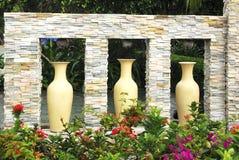 Jardin tranquille, un paradis sur terre. Photographie stock
